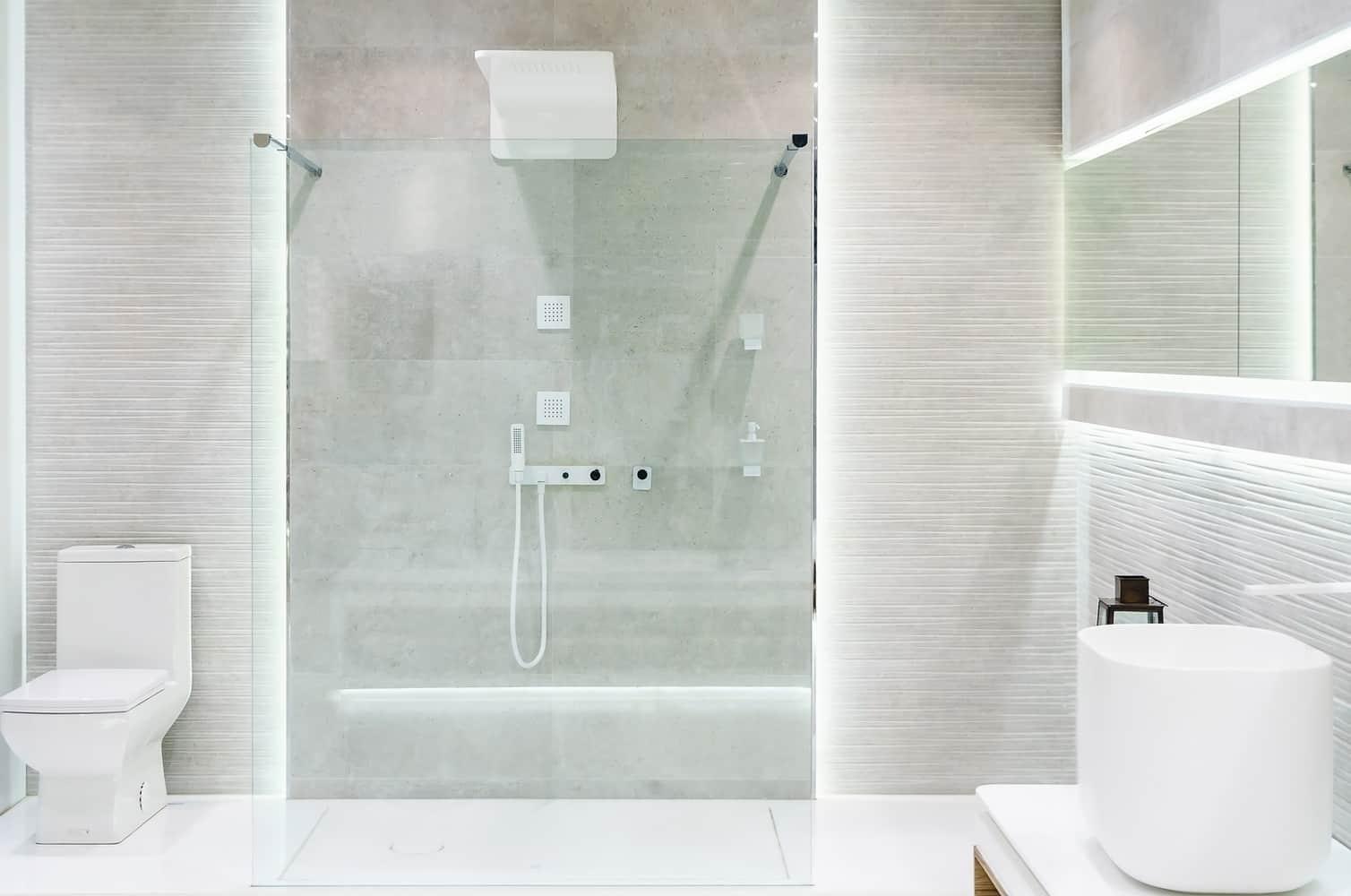 installation receveur de douche