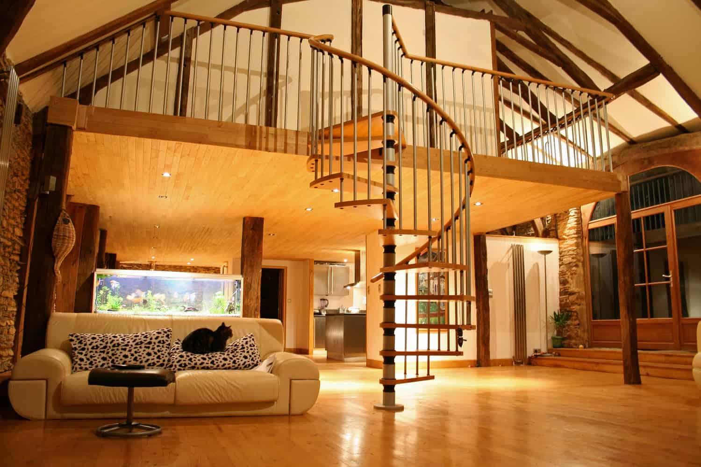 Installation escalier interieur