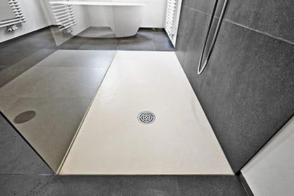 Installation de douche italienne